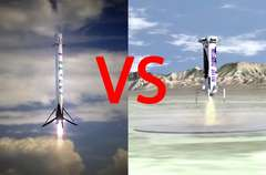 SpaceX Blue Origin Scale Comparison
