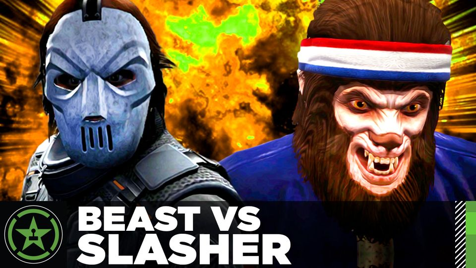 GTA V - Beast VS Slasher