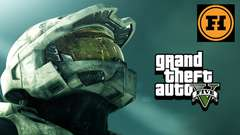 HALO in GTA 5! Mod Gameplay!