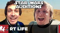 Lucasfilm Star Wars Auditions (No Spoilers)