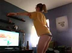 Wii Fit Underwear Girl