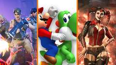 Battlegrounds SAVES Fortnite? + Mario PUNCHES Yoshi + Injustice 2 Patch BREAKS GAME