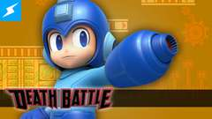 Mega Man gets equipped for a DEATH BATTLE!