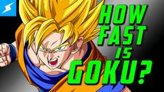 How Fast is Goku? (Behind the Scenes)