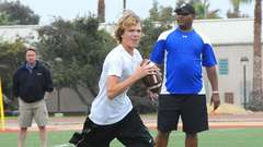 13 year old quarterback signs to USC