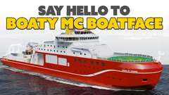 Let the Internet Name a Boat? Bad Idea.