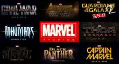 Marvel Cinematic Universe Line Up