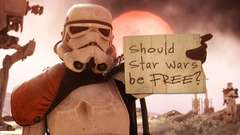 SHOULD STAR WARS BE FREE? - Dude Soup Podcast #81