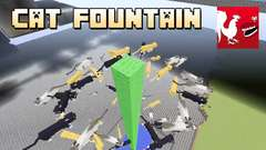 Minecraft - Cat Fountain