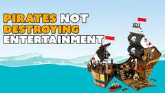 Piracy NOT DESTROYING Movies & Games