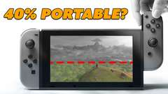 Nintendo Switch 40% Portable?