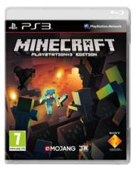 Minecraft PS3 Cover
