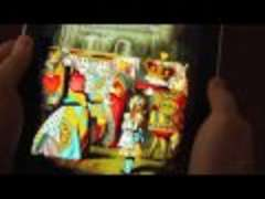 Alice in Wonderland on the iPad
