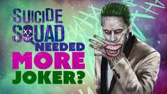 Suicide Squad's director said the movie needed ... more Joker??