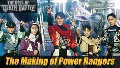 The Making of Power Rangers!