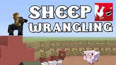 Minecraft - Sheep Wrangling
