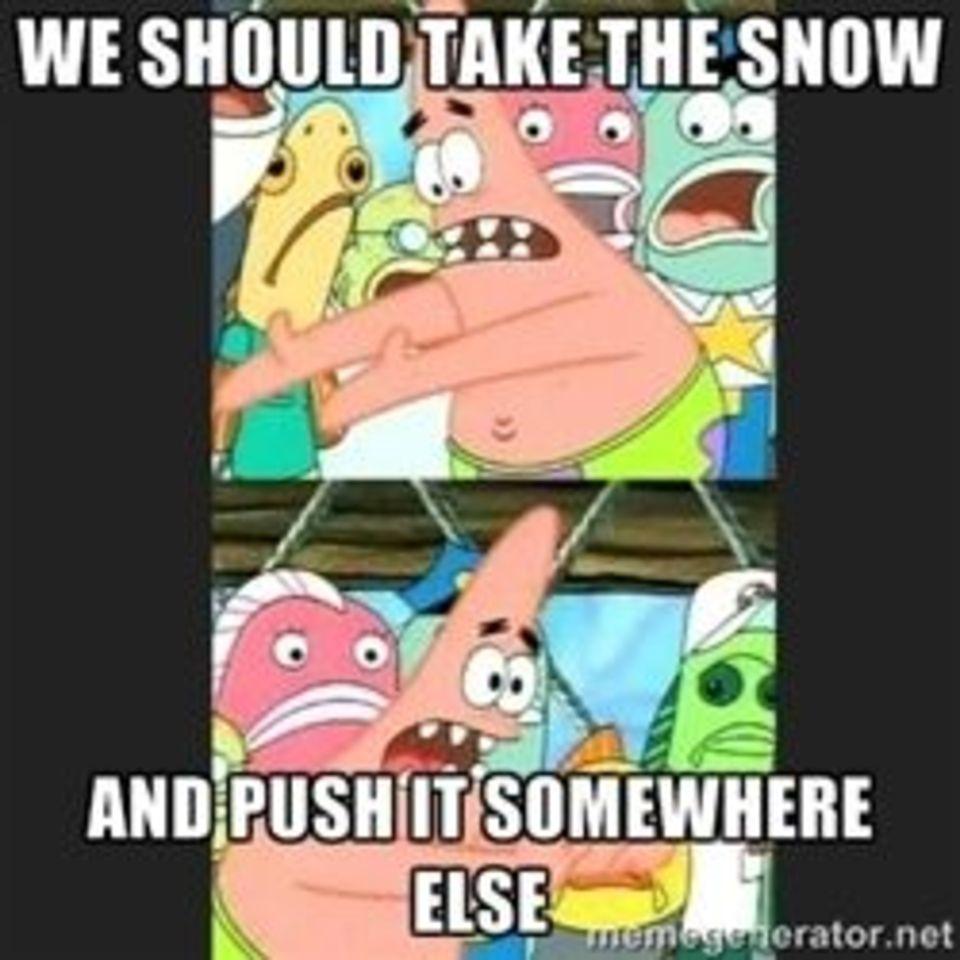 Push it somewhere else Patrick memes  quickmeme
