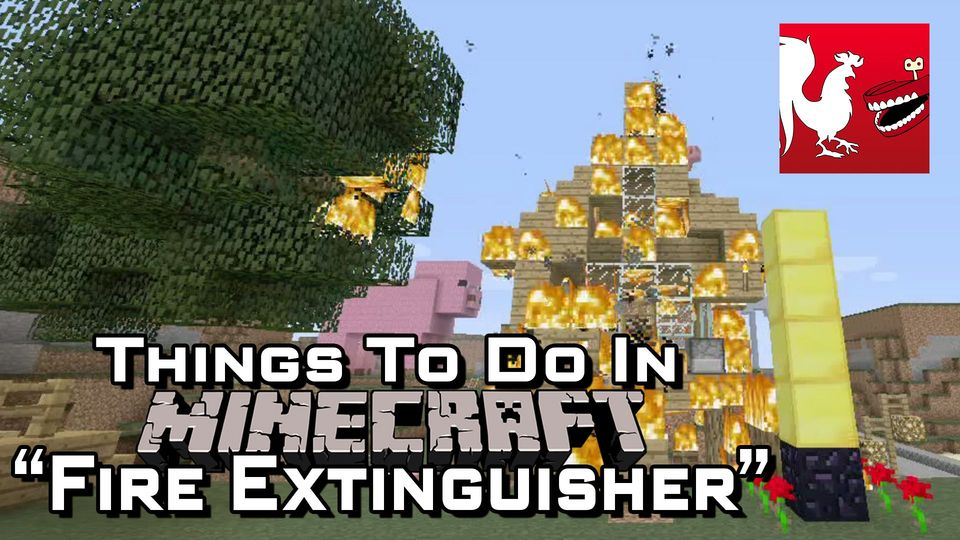 Minecraft - Fire Extinguisher