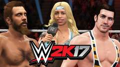 TWIN TOWERS RISE - WWE 2k17 Gameplay