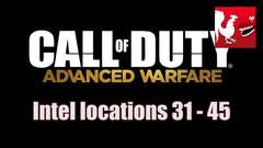Call Of Duty: Advanced Warfare - Intel Locations 31-45 Guide