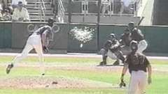 Randy Johnson Hits Bird