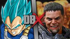 Vegeta VS Zod (Dragon Ball VS DC Comics)