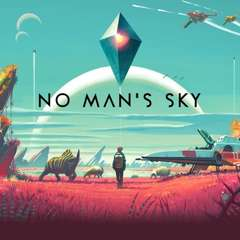 Guy Walks Across Planet in No Man's Sky