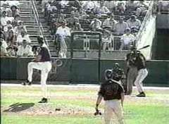Randy Johnson Hit a Bird