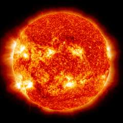 Energy required for bursts would take the sun 10,000 days