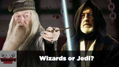 Wizards or Jedi? | DEATH BATTLE Cast