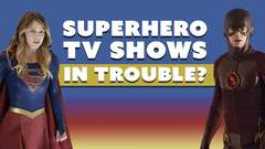 Superhero TV Shows in Trouble?