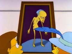 Marge Paints Mr. Burns