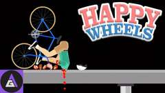 Let's Play Happy Wheels - BLOOD, GUTS & HAPPINESS