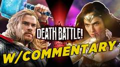 Thor VS Wonder Woman w/Commentary