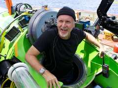 James Cameron Trench Dive