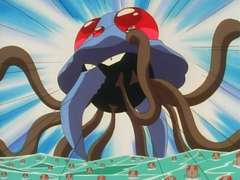 Tentacruel Destroys City