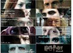 In memory of all those who died during the Hogwarts battle