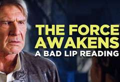 The Force Awakens: Bad Lip Reading
