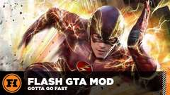 THE FLASH is BACK in GTA 5! Mod Gameplay!