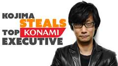 Kojima Recruits Top Konami Exec!