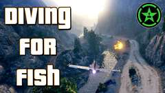 GTA V - Diving for Fish