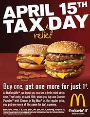 McDonalds Tax Day