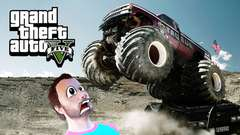 MONSTER TRUCK CLUSTER F*CK - GTA 5 Gameplay