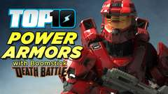 Boomstick's Top 10 Power Armors