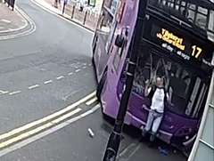 Man Hit By Bus as He Crosses Road