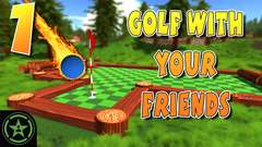 Golf With Your Friends: AH Live Stream - Part 1