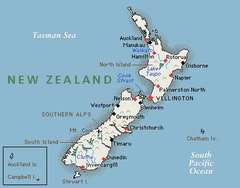 New Zealand has no land snakes