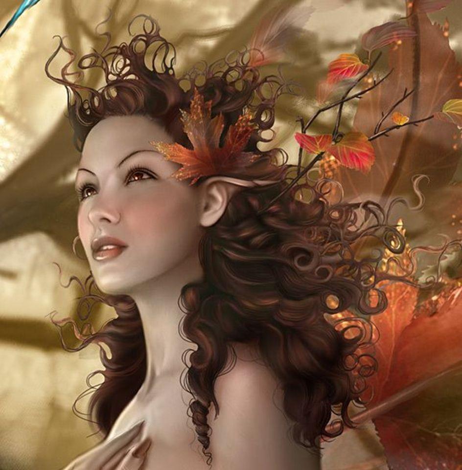 Эльфийские принцессы двойняшки 12 фотография