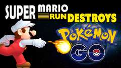 Super Mario Run BIGGER Than Pokemon Go! (for now)