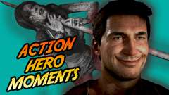 Ten EPIC ACTION HERO MOMENTS in Video Games!!